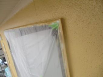 外壁中塗りが終了しました