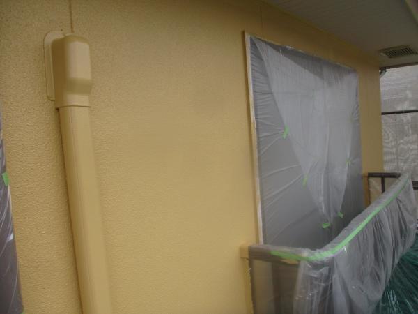 上塗り塗装が終了しました