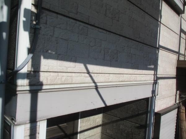 塗装前の幕板の状態です