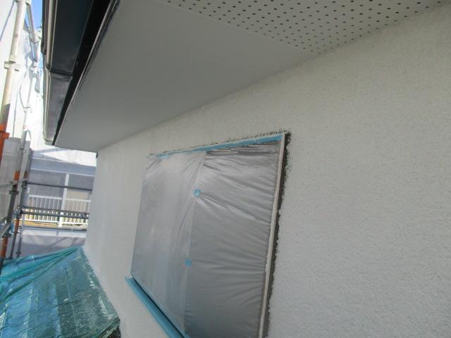 下塗りが終了しました