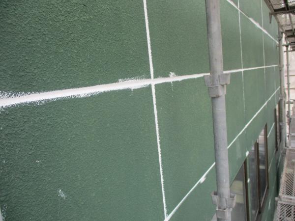 ALC外壁のシーリングが終了しました