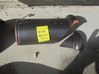 破損した丸瓦です