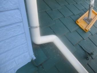 這い樋の納まりです