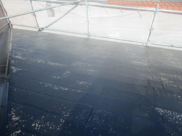 大屋根の洗浄終了です