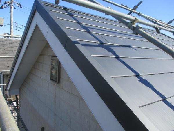 カバー工事大屋根の完工です