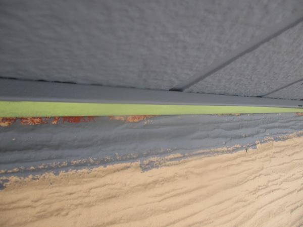 外壁塗装用の養生をしました