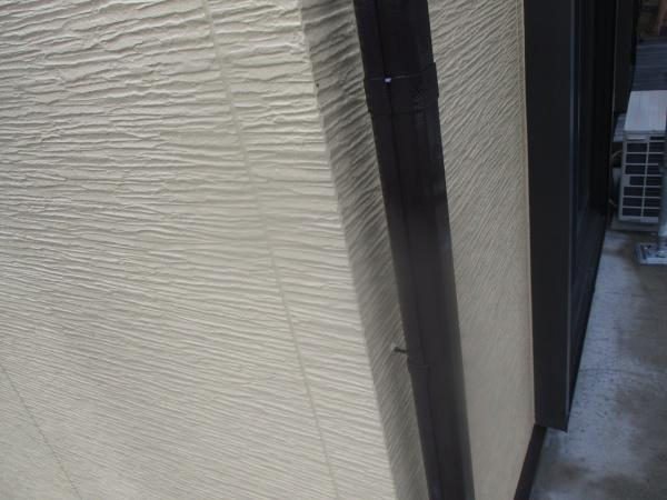 竪樋塗装の完工です