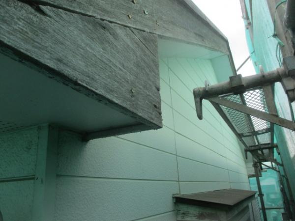 洗浄前の外壁の状態です