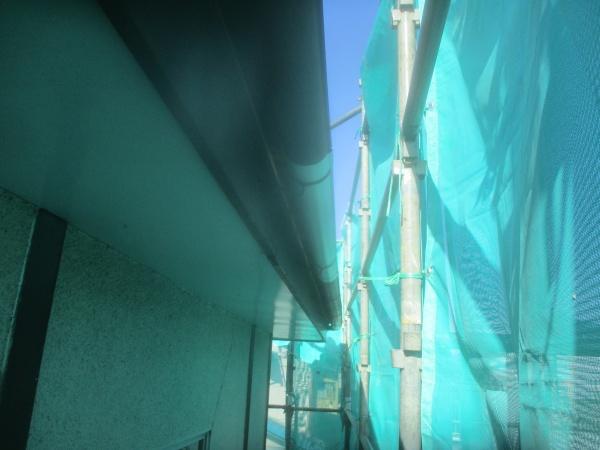 雨樋の補修が終了しました