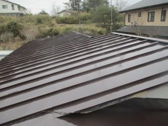 屋根塗装工事が終了しました