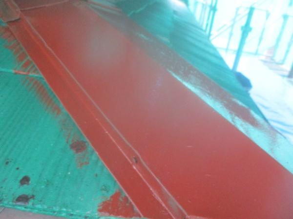 板金部の錆止め塗装終了です