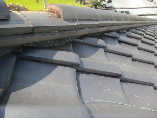 施工前の屋根の状態です