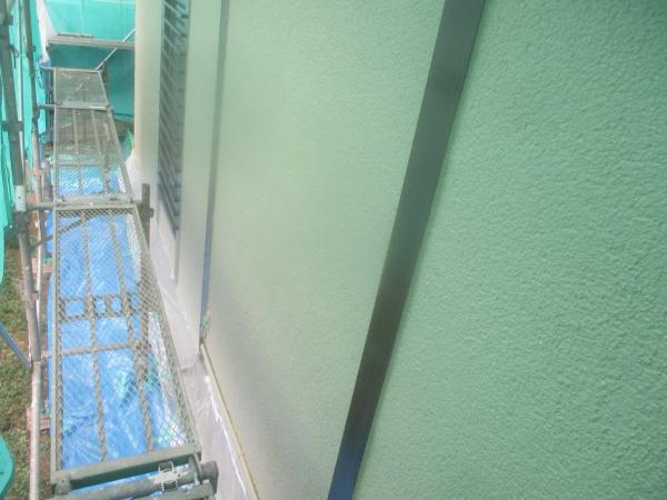 1階木部中塗り塗装終了です