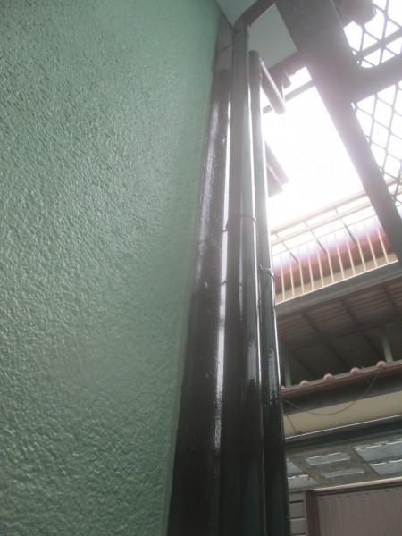 1階上塗り塗装終了です