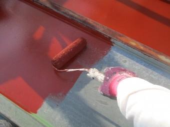 板金ローラー塗装中です