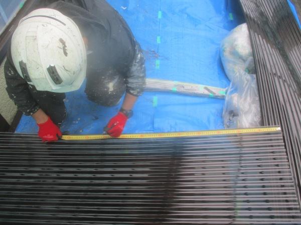 宇都宮市で波板交換とリシン吹付外壁の塗装工事の完工です。