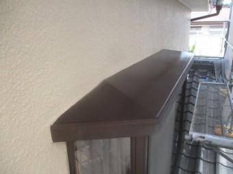 出窓天板の完工です