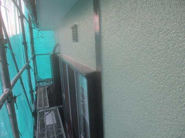 1階外壁の完工です