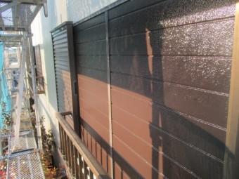 雨戸の塗装が終了しました