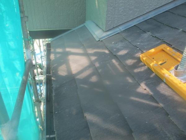 施工前の下屋根の状態です
