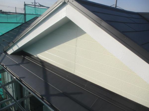 大屋根母屋部分の完工です