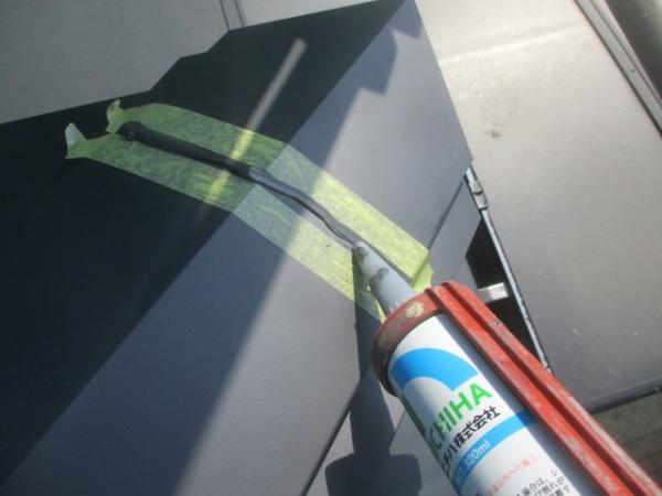 宇都宮市でスレート屋根から横暖ルーフにカバー工事が完工です。