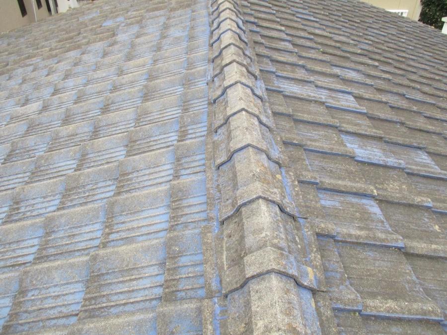 雨漏り箇所の屋根側です