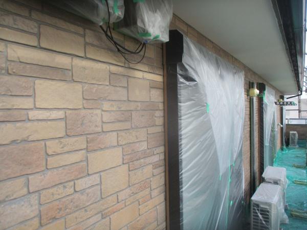 1回目の外壁塗装が終了しました