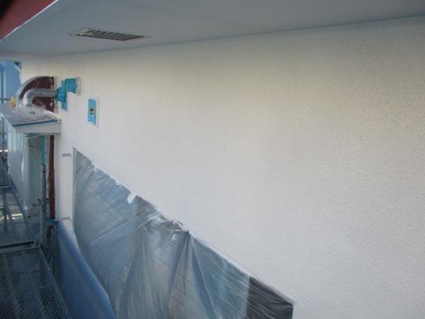 中塗り塗装が終了しました