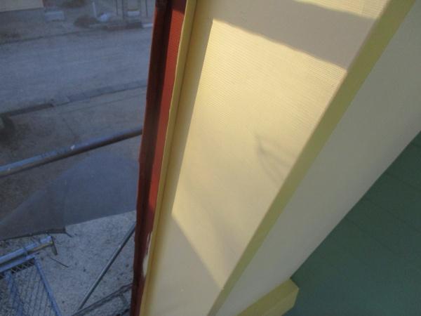 破風板塗装が終了しました
