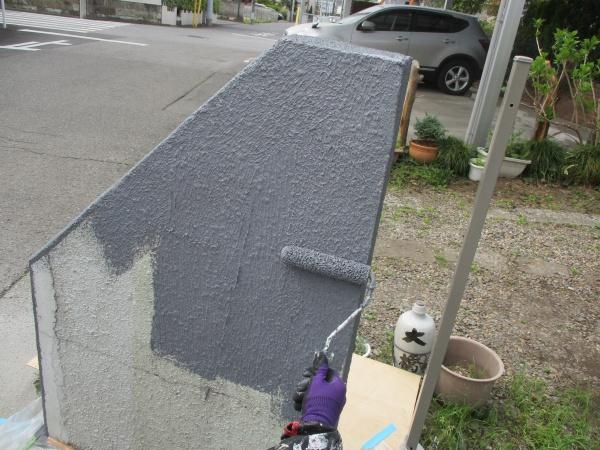 中塗り塗装をしました