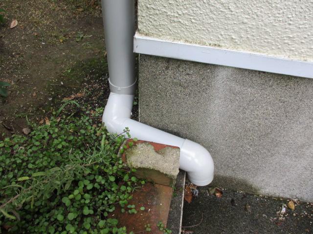 配水管を加工しました