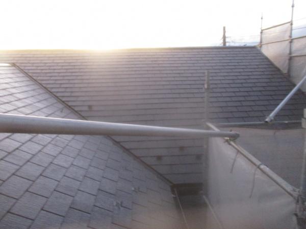 屋根の施工後の状態です