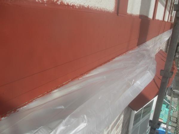 幕板の下塗り塗装が終了しました