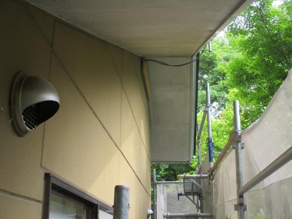 外壁の塗装前です
