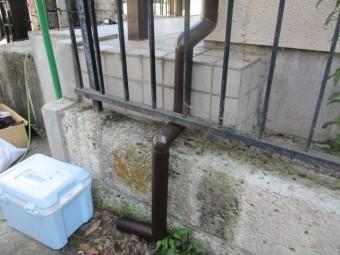 排水管を加工しました