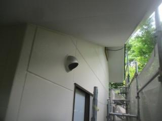 外壁の塗装後です