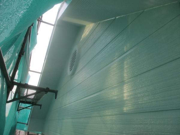 外壁塗装の完工です