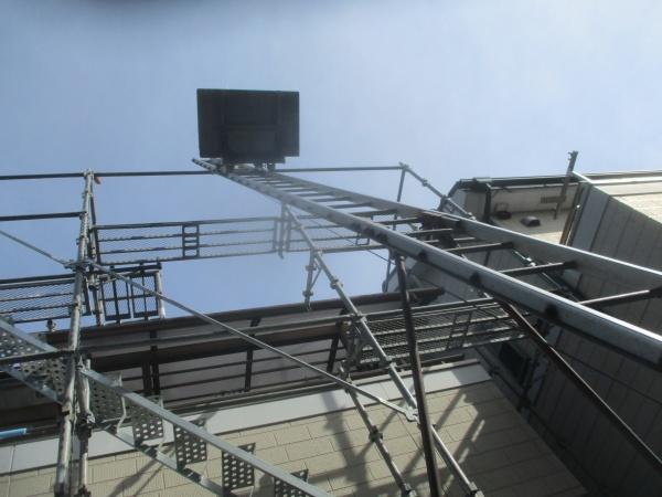 昇降機の設置完了です