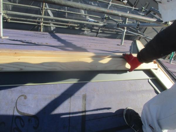 宇都宮市で横暖ルーフSを使いコロニアル屋根のカバー工事をしました