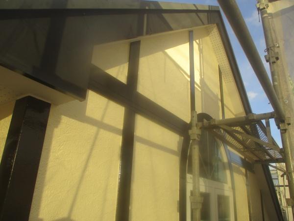 2階外壁東面の完工です