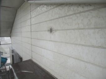 2階の外壁の洗浄後です