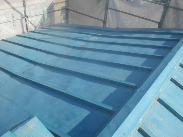 塗装前の屋根の状態です