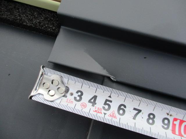 寸法を測り墨を打ちました