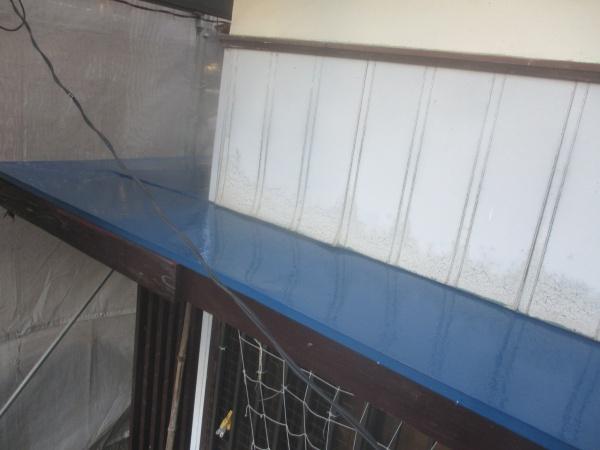 玄関修復工事の完工です