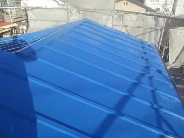 大屋根の完工です