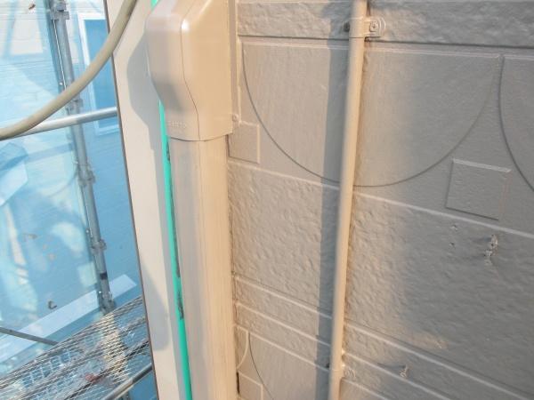 エアコンホースカバーの塗装が終了しました