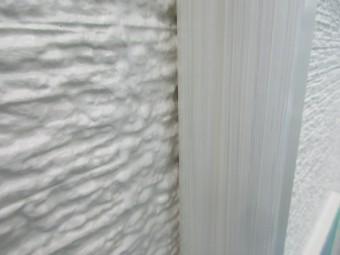 エアコンホスカバーを刷毛で仕上げました