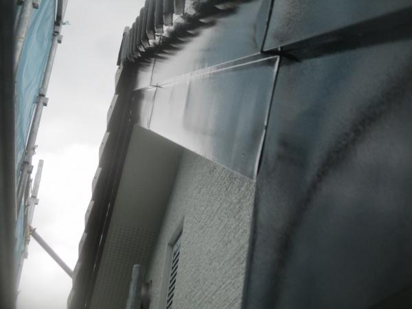 破風板の仕上がりです