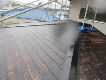 2階の屋根の線所湯が終わりました
